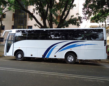 50 seater travel bus in bangalore
